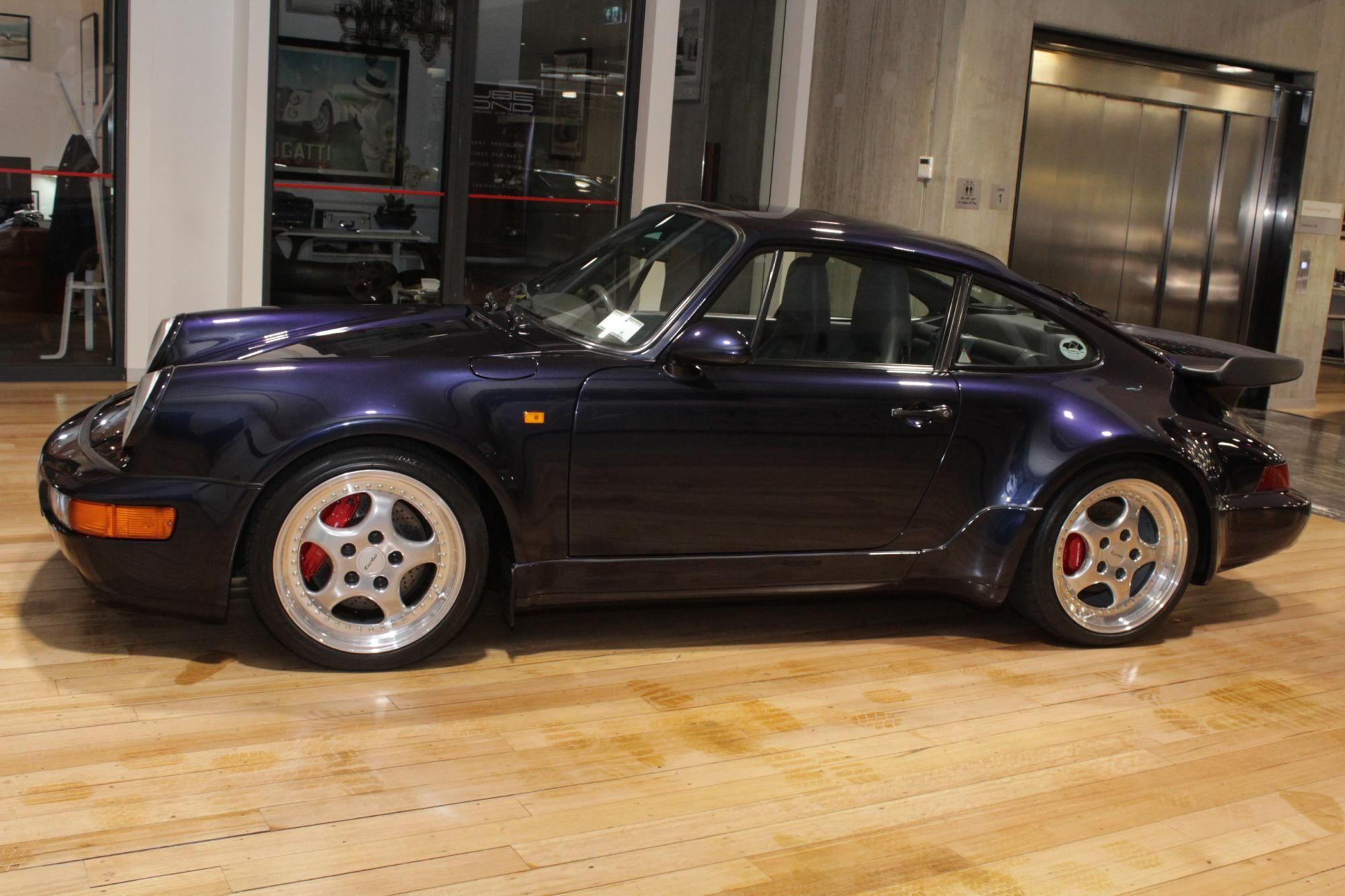 1993 Porsche 964 Turbo 3 6l Manual Porsche Porsche 964 Porsche For Sale
