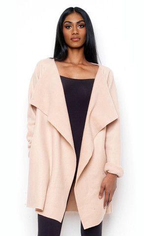 Ekineyo Raw-Cut Fleece Jacket