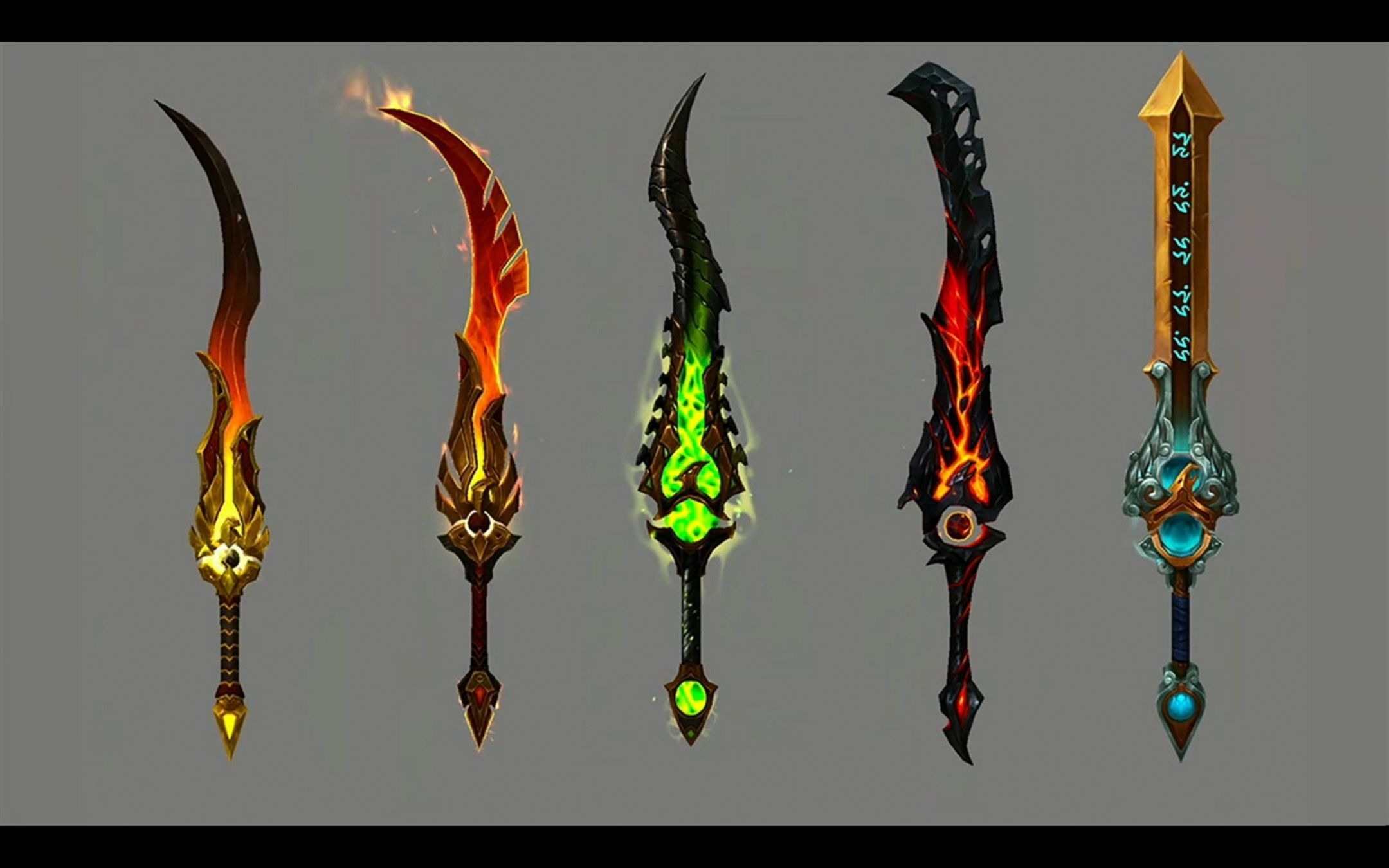 Legion Artifacts What We Know Wowhead News Weapon