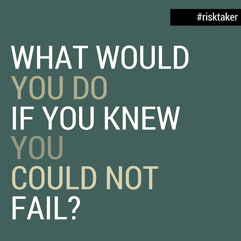 Motivator What Would You Do If You Knew You Could Not Fail Fails Knowing You Motivation