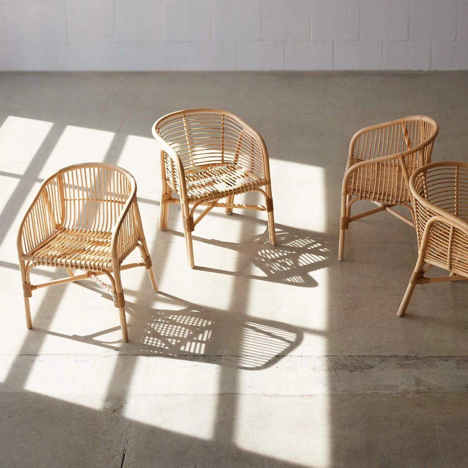 Lombok Rattan Lounge Chair by Artisans of Cirebon for The ...