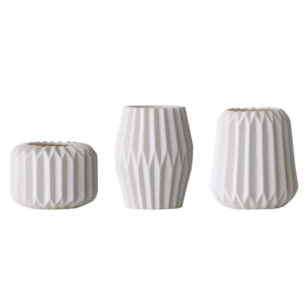 Porcelain Ljuslykta 3-Pack 5275c252d60e4