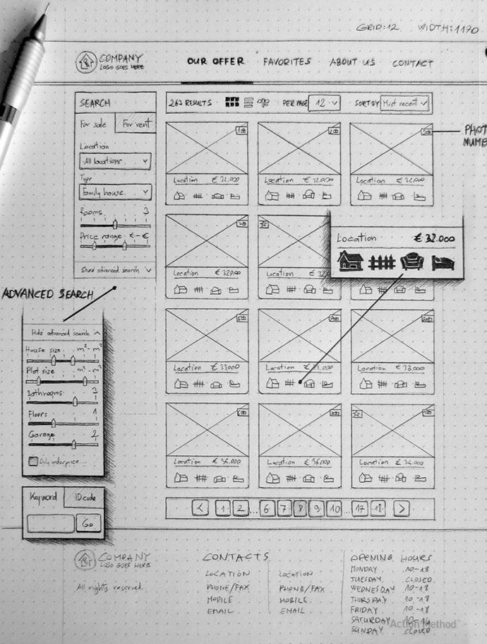 22 Low Fidelity Web Mobile Prototyping Examples Wireframe Design Web Layout Design Web Graphic Design