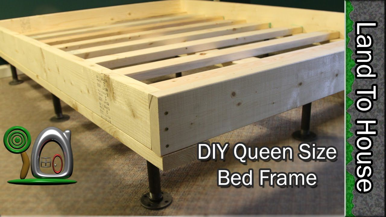 In this video I show you how to make a Queen Sized Bed