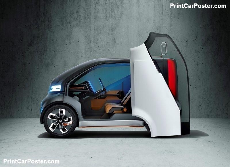 Honda Neuv Concept 2017 Poster Electric Car Concept Concept
