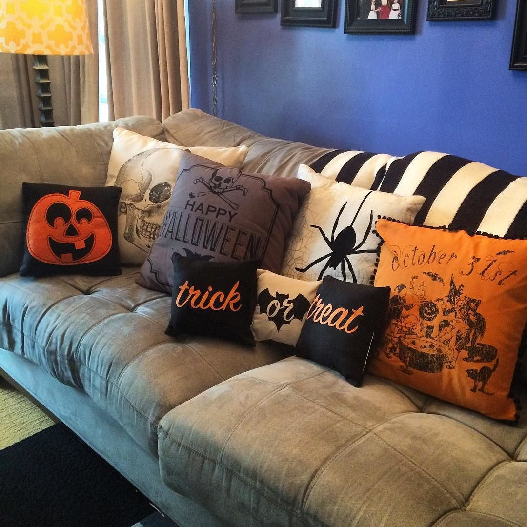 todd l dont we have enough pillows me goes to store and buys halloween pillows - Halloween Pillows