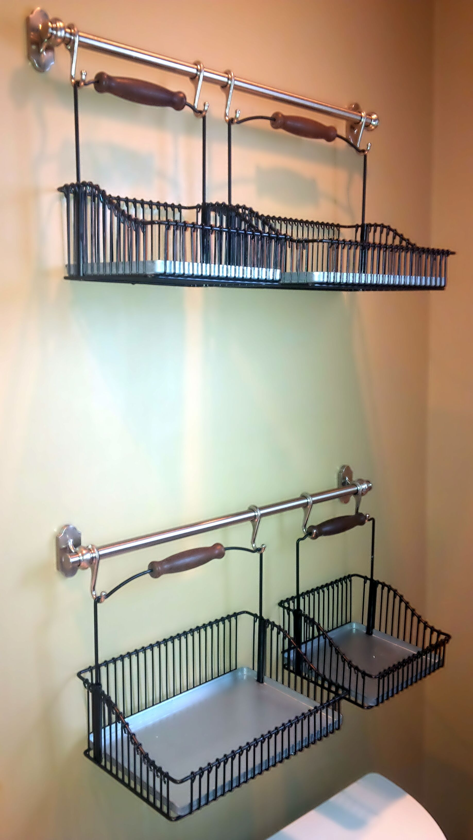Ikea Hack In The Bathroom New Shelving System Home