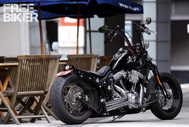 費迪南_DSC1357 | Flickr: Intercambio de fotos #harleydavidsonsoftailstandard | Coches y motocicletas. Motos harley davidson. Motocicletas