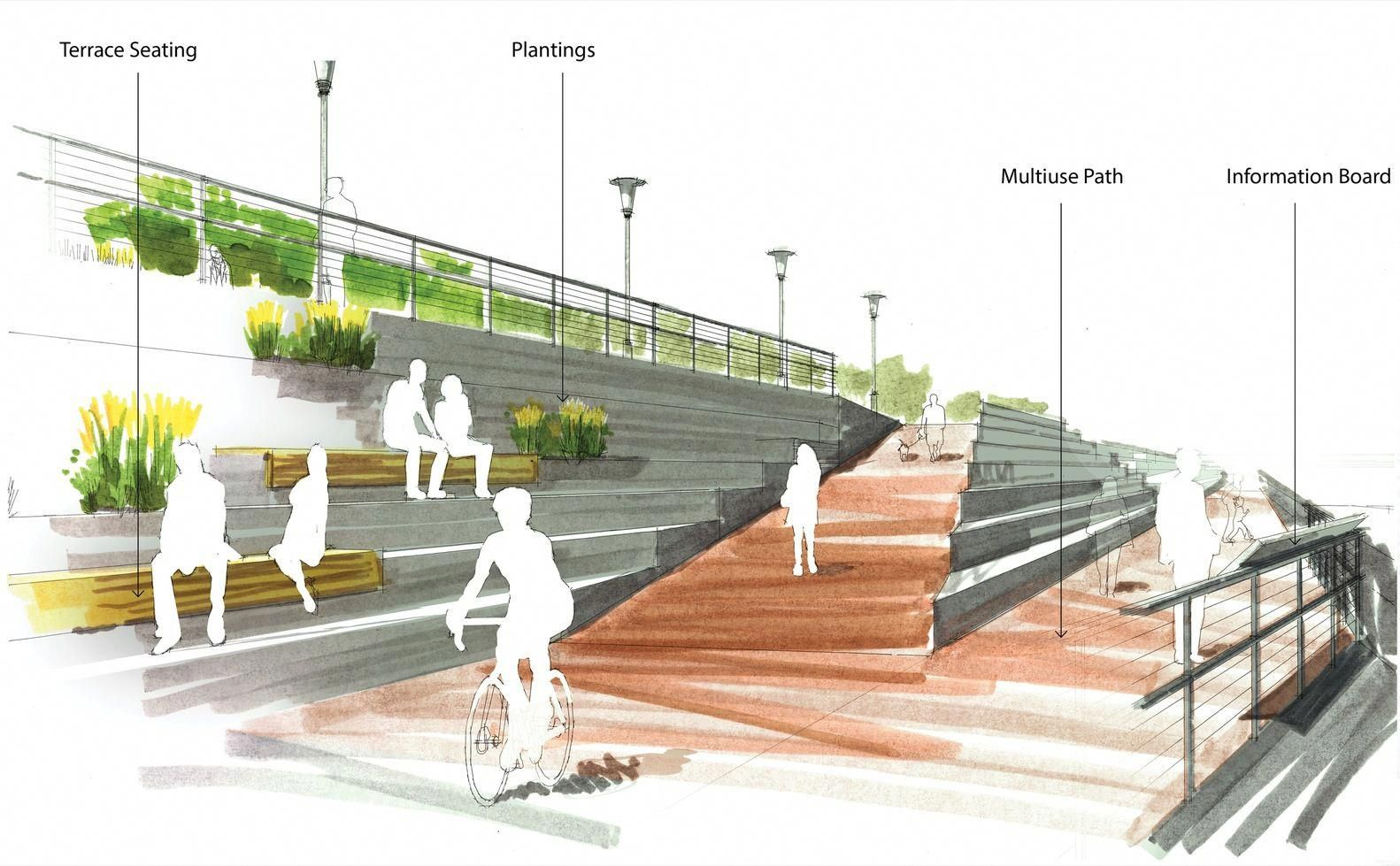 Gallery of 7 Firms Reveal Plans for Los Angeles River