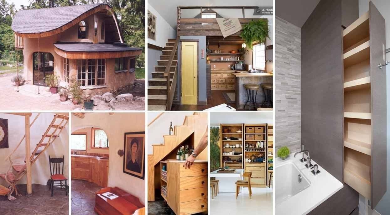 creative ideas for small homes