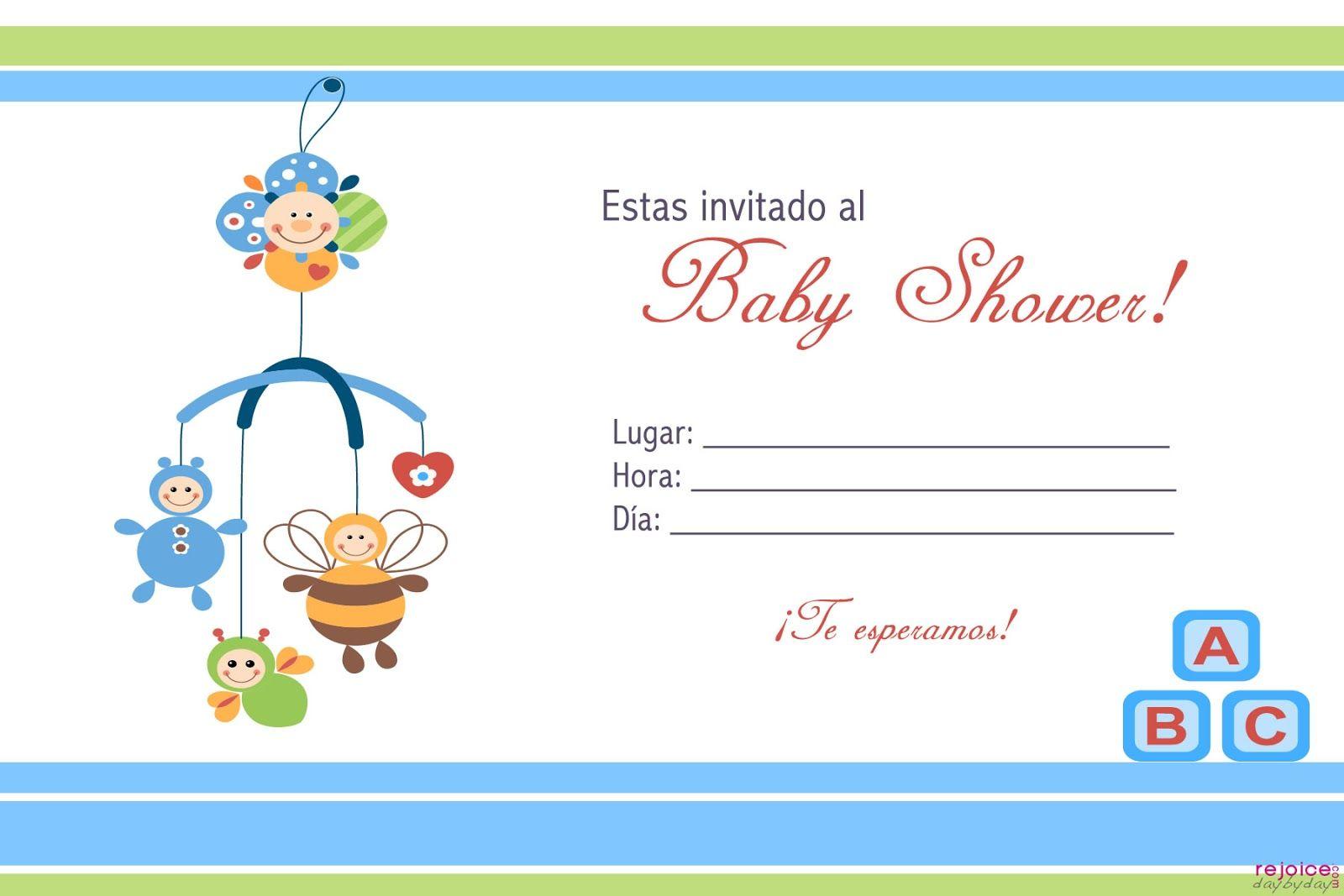 Invitaciones Para Baby Shower Blog De Fotografias Imagenes