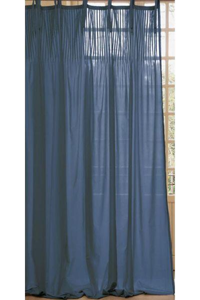 Filtrez le soleil avec ces rideaux en voile de coton chambres bord de mer chambre bord de for Voile et rideaux