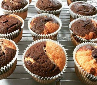 CosebuonediAle: tortine variegate al cacao