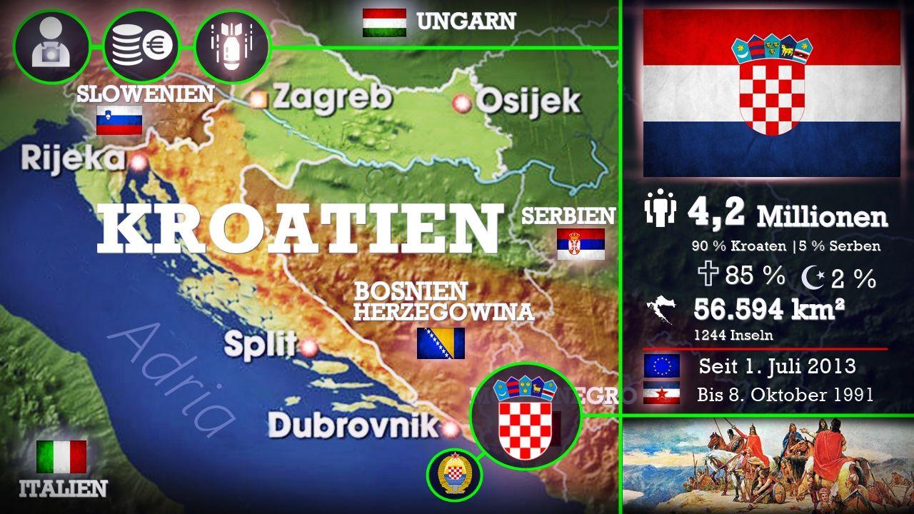 Kroatien Der Frischling In Der Eu Mit Offenen Karten Der