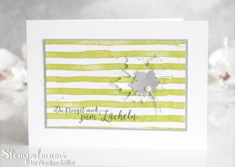 Stampin Up - Grusskarte - Greeting Card - Dankeskarte - Karte ...