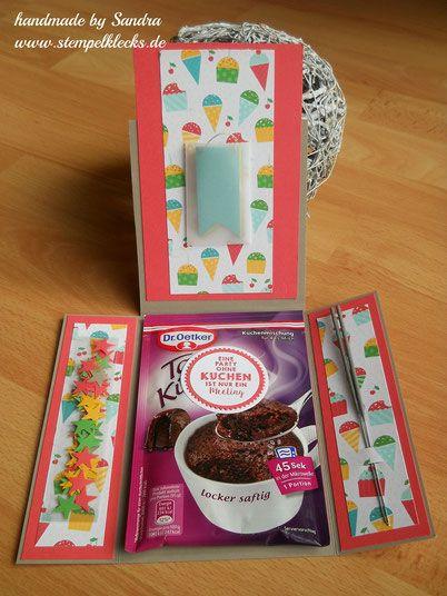 Sweet sixteen - Tassenkuchenkarte #sweetsixteen
