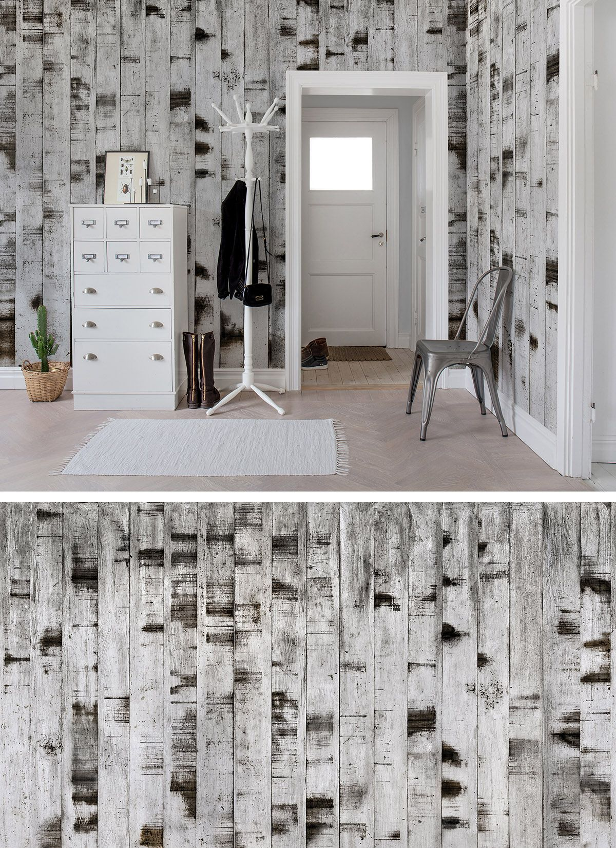 Metal Birch | Schlafzimmer tapete, Tapeten und Tapete holz