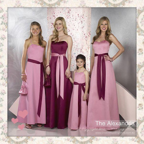 Alexandria, bridal, bridesmaid, gown, dress, wedding | Wedding Ideas ...