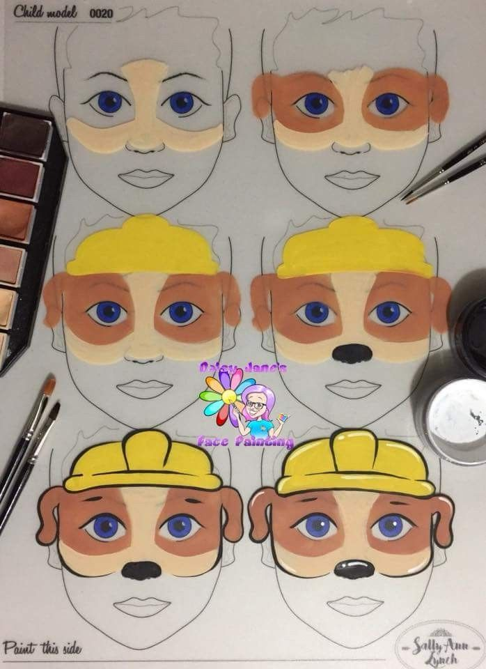 Paw Patrol from Jane Harding | Face Painting | Pinterest | Paw ...