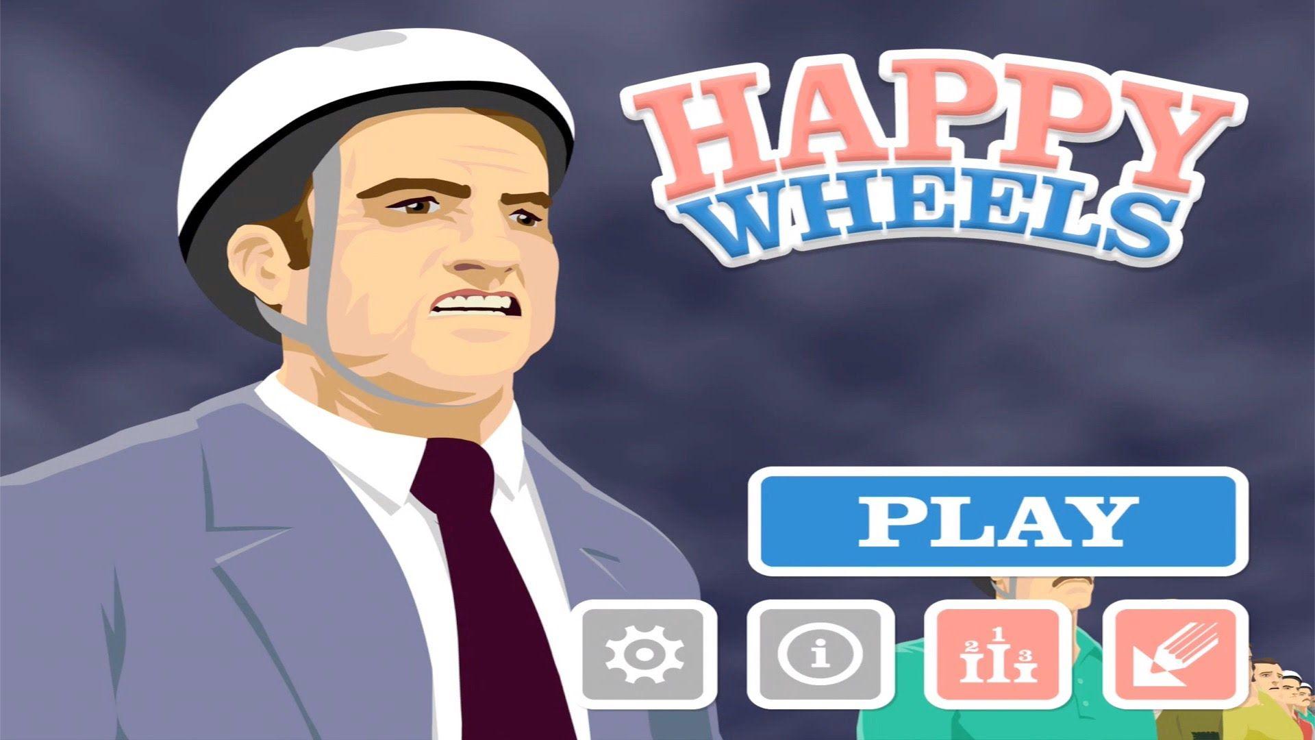 New Happy Wheels App PlayThrough IPad Gaming | Aspectreviews