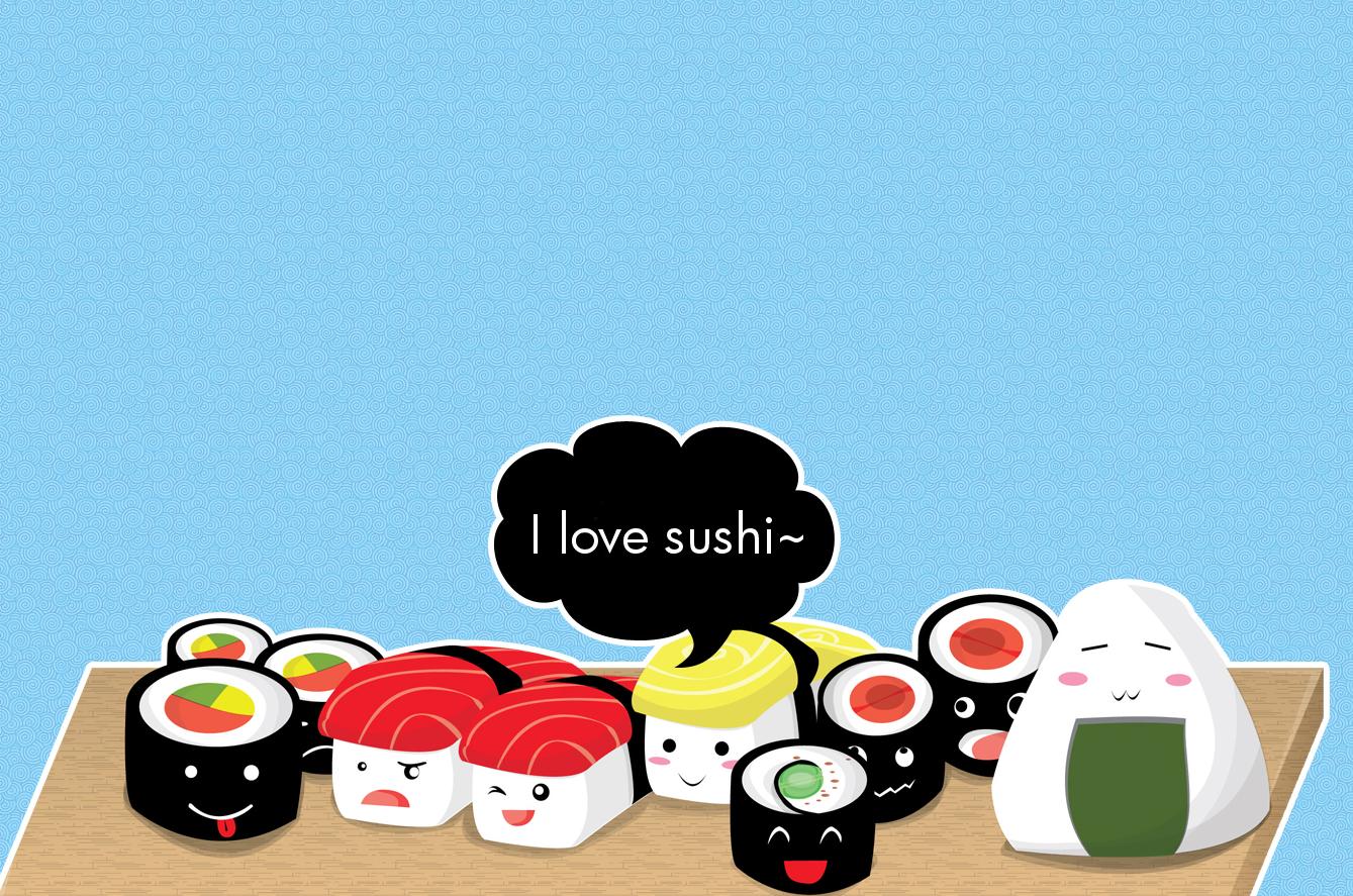 Pin By Stephanie Medina On Asato Food Wallpaper Japanese Sushi