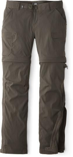 10ff1e62e3 REI Co-op Women's Sahara Convertible Pants Petite Sizes Dark Army Cot 10  Petite
