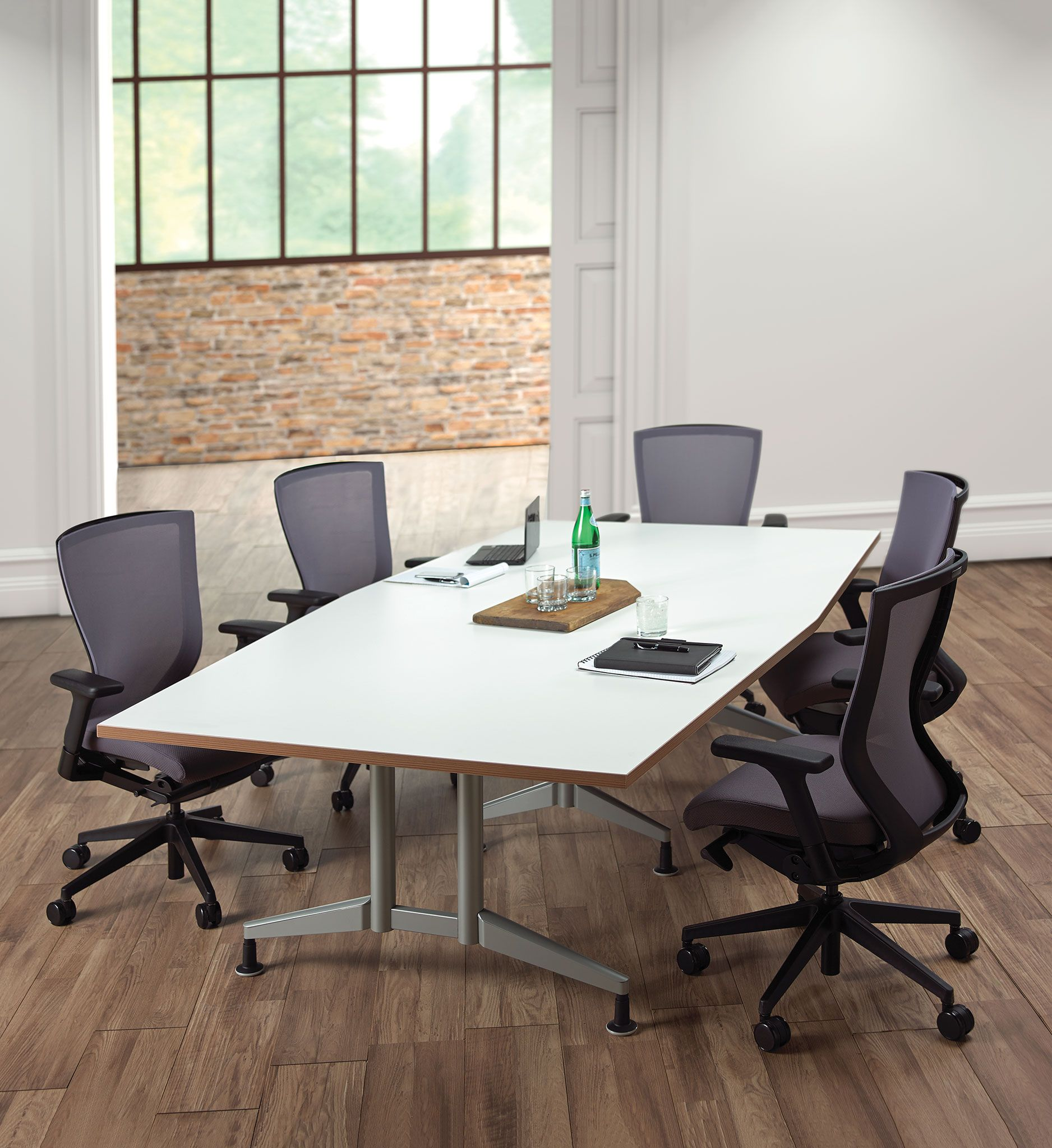 New Pirouette Double TT Base Conference Table Pirouette - Conference table shapes