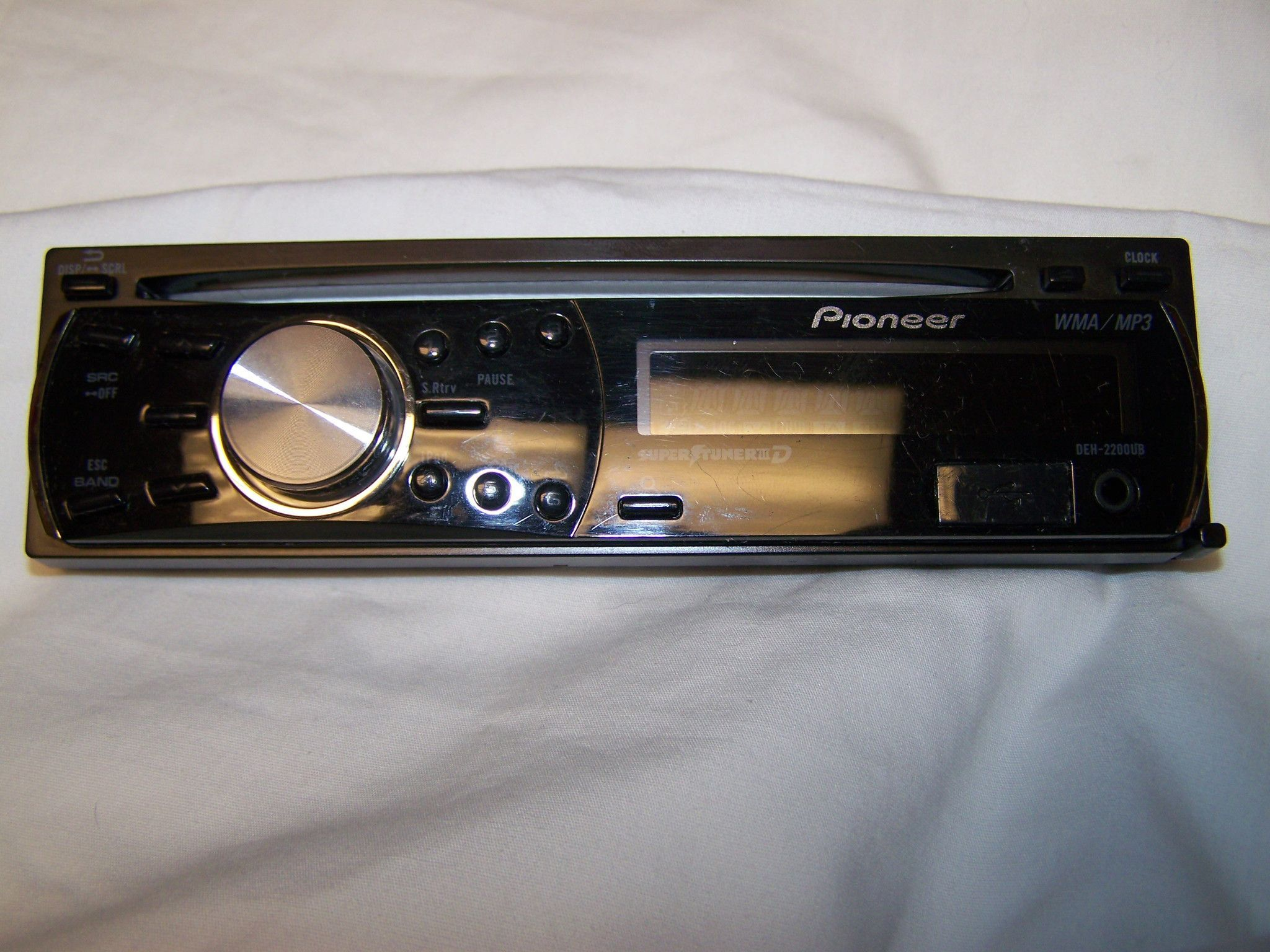 Pioneer Stereo Face Plate Replacement Model DEH-2200UB faceplate DEH 2200ub DEH2200ub