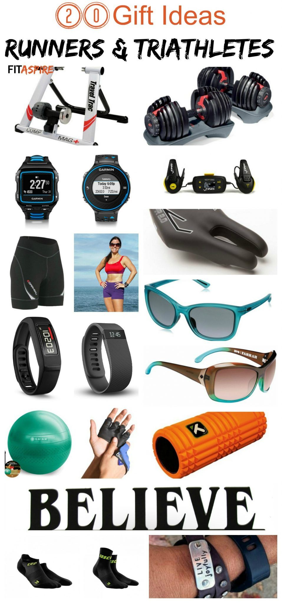 Gift guide for runners triathletes gifts for