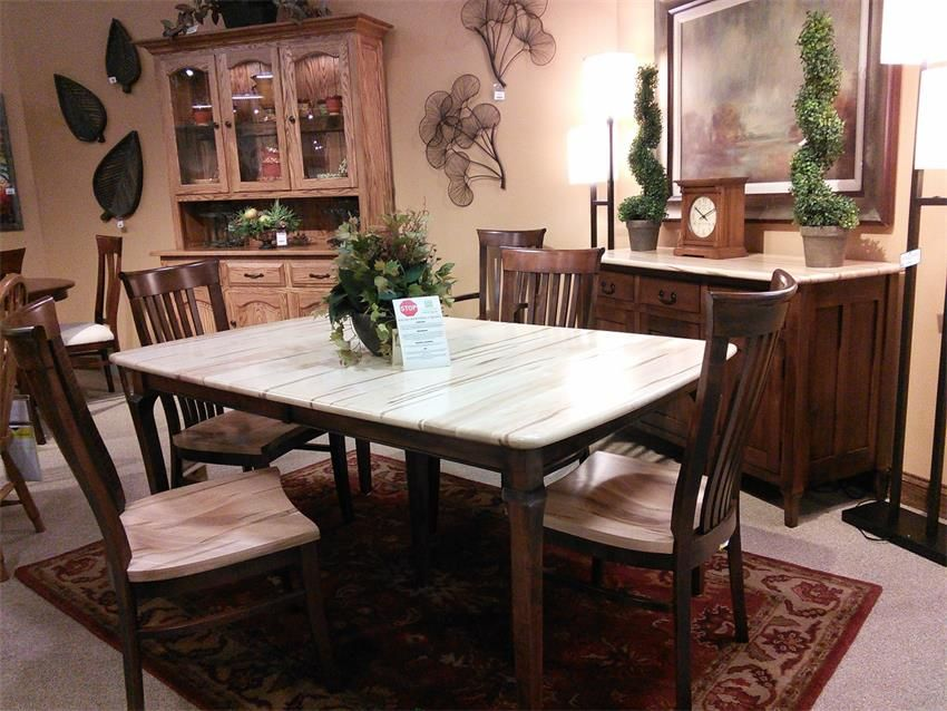 Amish Jacob Martin Table Extension Dining Table Rustic Dining Table Rustic Dining