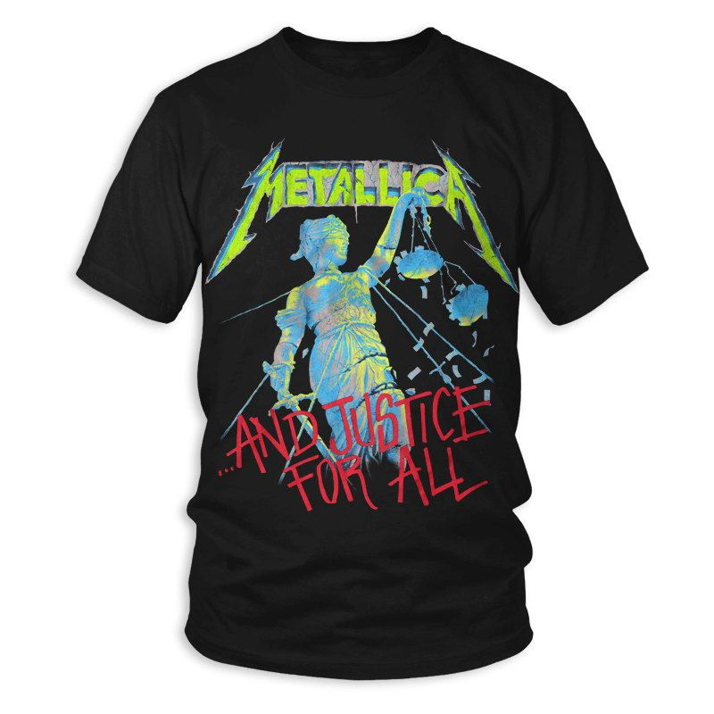 METALLICA - PUSHEAD ...And Justice for All T-Shirt