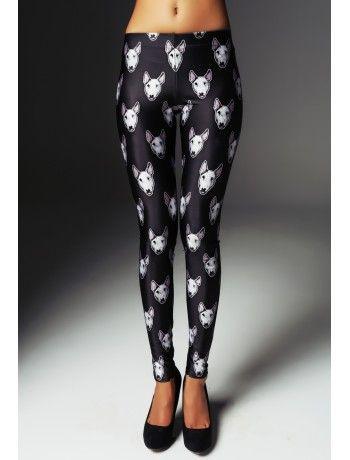 b993c9f90f730c Trash Black Bull Terrier Leggings | Outfit ideas | Black bull ...