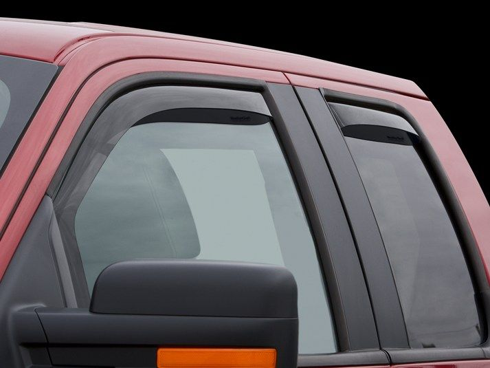 2011 Ford F 150 Weathertech Side Window Deflectors Rain