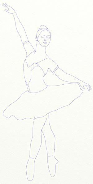 Как нарисовать модные платья