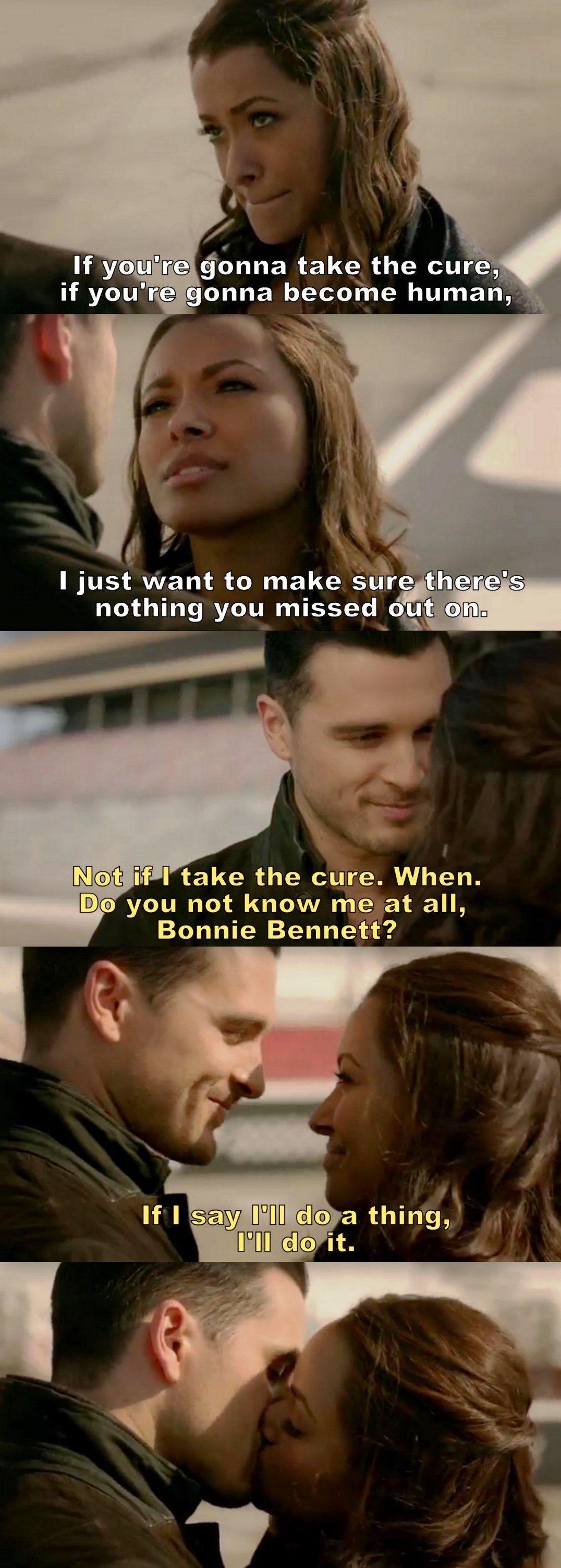 "#TVD 8x11 ""You Made a Choice to Be Good"" - Damon and Caroline"