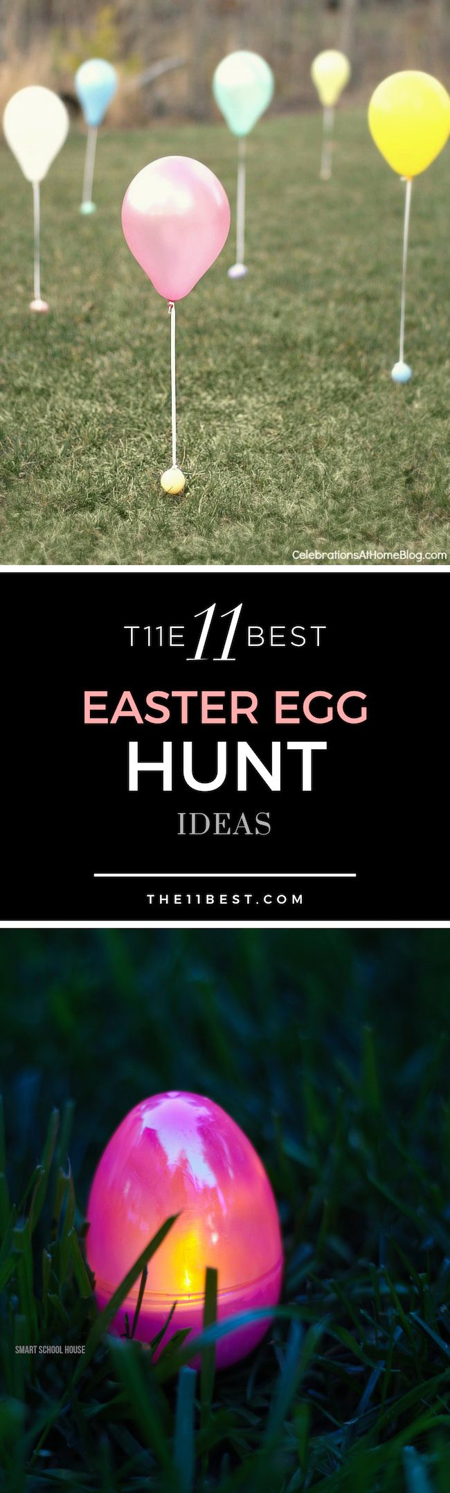 Easter Egg Hunt Ideas Glow In The Dark Eggs Balloon For Toddlers And Babies