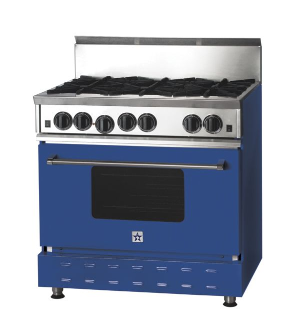 Bluestar 36 Pro Style Range In Ral5005 Signal Blue Purple Kitchen Custom Kitchen Appliances Purple Home