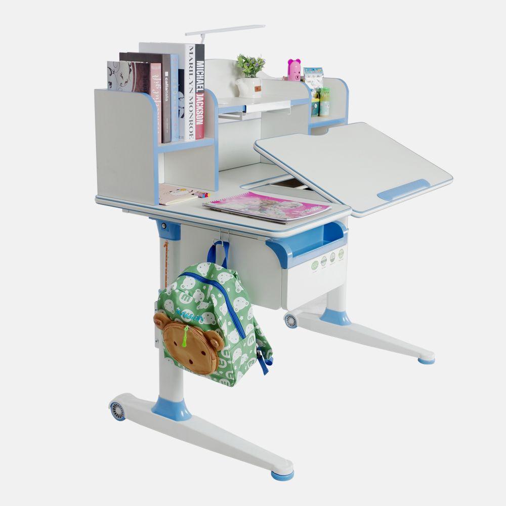 Pengcheng Pcs 1100 Wide Platform Kids Study Adjustable Desk With Storage For Kids 1 Easy To Adjust Height Fr Adjustable Height Desk Kids Study Adjustable Desk