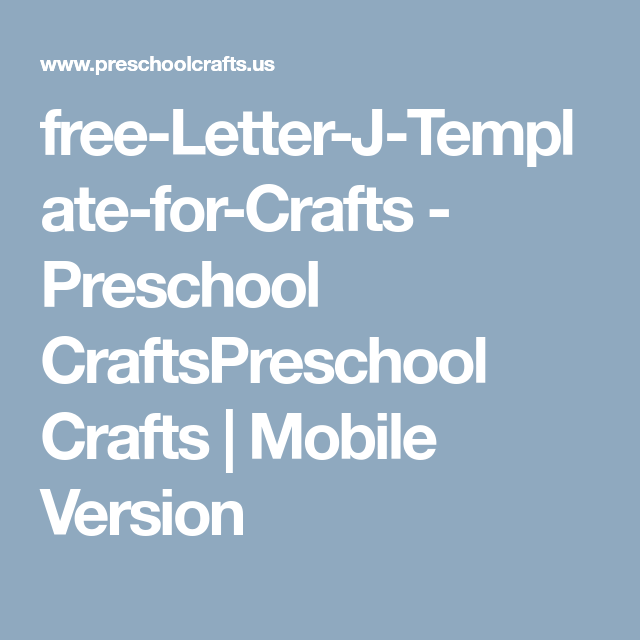 Luxury Letter J Template Preschool Photo - Certificate Resume ...