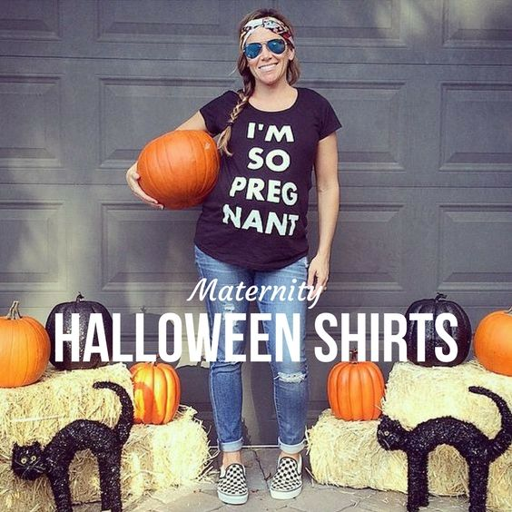 Maternity Halloween Shirts for Expected Mothers Maternity