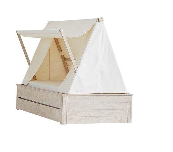 Wyatt Trundle Platform Bed & Canopy | Pottery Barn Kids | Brie\'s ...
