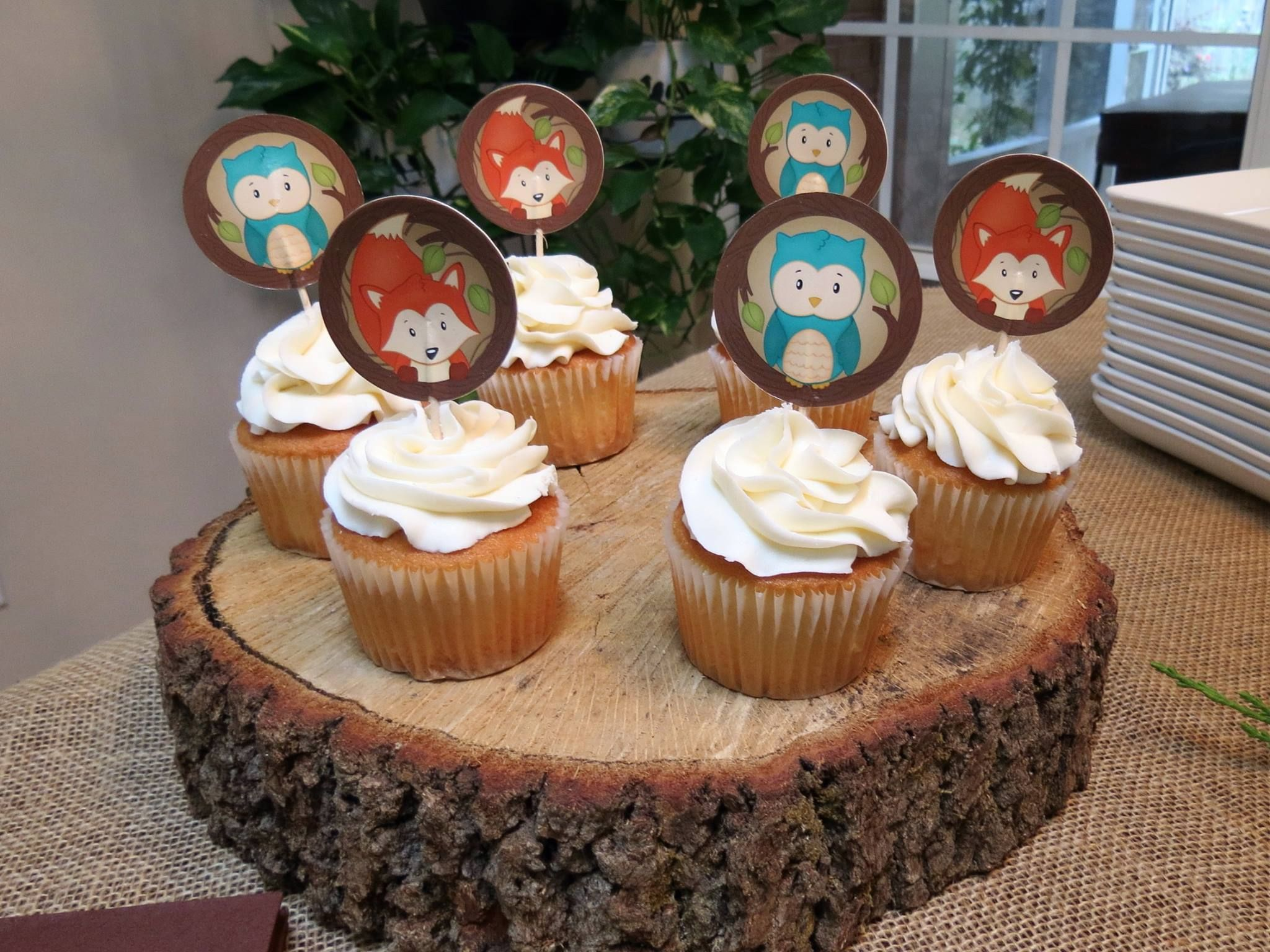 """Forest Friends"""" a Woodland Themed Baby Shower Decorations and"""
