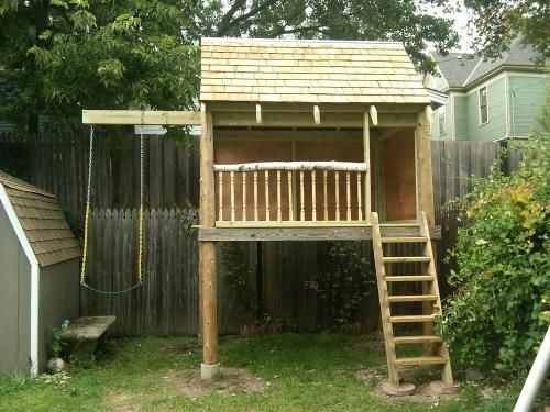 Backyard Playhouse Outside Buy Backyard Discovery Tucson Cedar Wooden Swing  Set Big Backyard Bayberry Ready To Assemble Wooden Playhouse For The Money  May ...