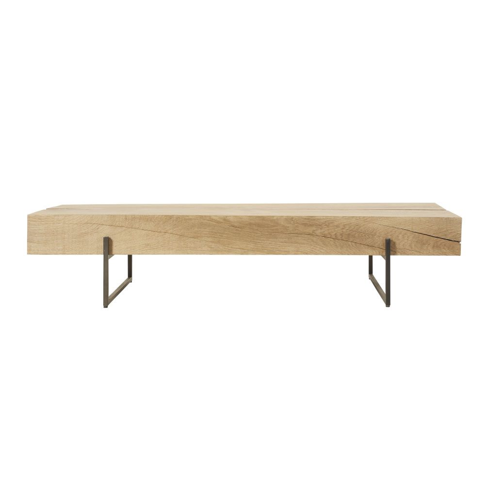 Epingle Sur Table Basse Bois