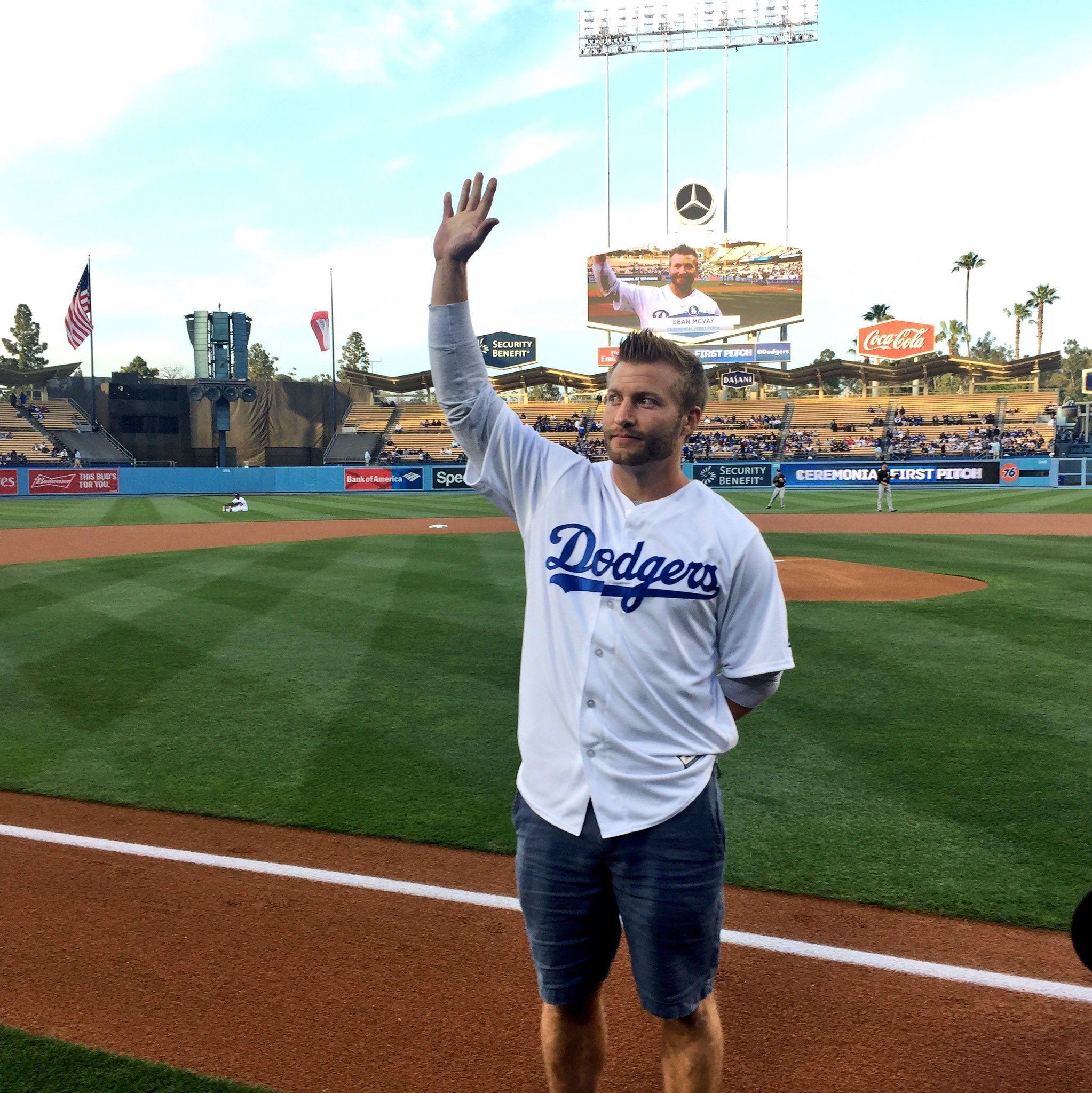 Sean Mcvay Gets La Quickly Sean Mcvay Man Crush Dodgers