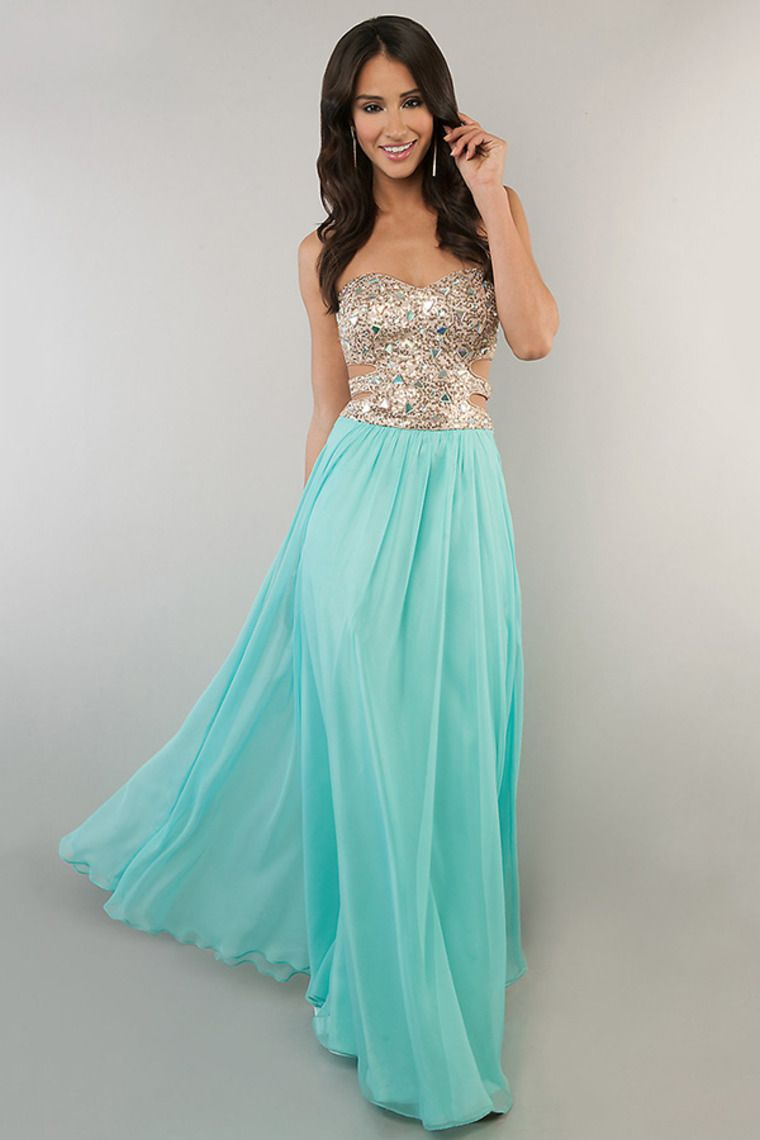 10 Best images about Beautiful Dresses on Pinterest - Long prom ...