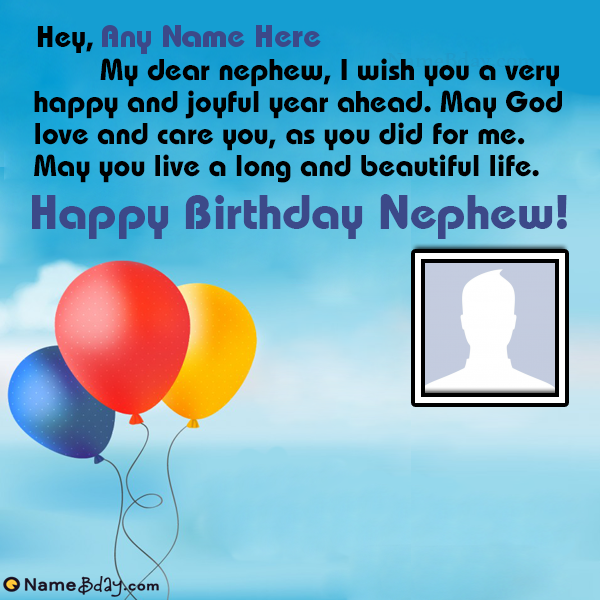 Happy Birthday Greetings For Nephew With Name Birthday Greetings Birthday Wishes With Name Birthday Greetings For Nephew