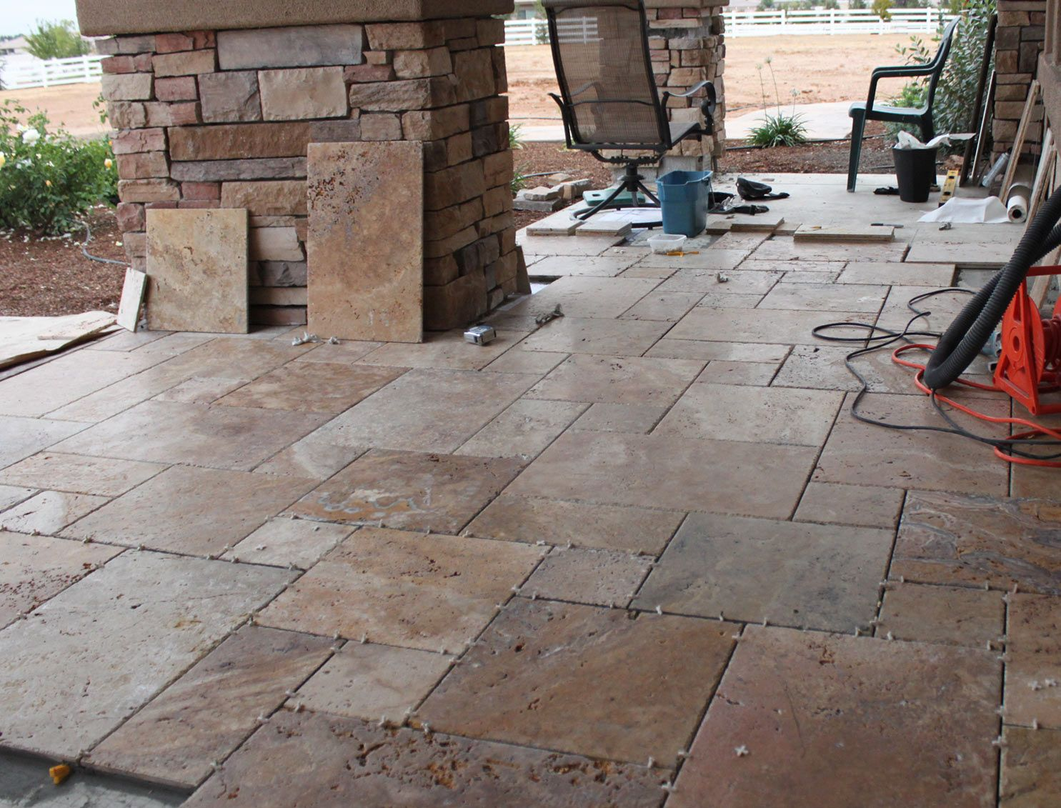 Front porch tiles looks good with flag stone posts for the love various porch tile flooring ideas drop dead gorgeous front porch dailygadgetfo Gallery