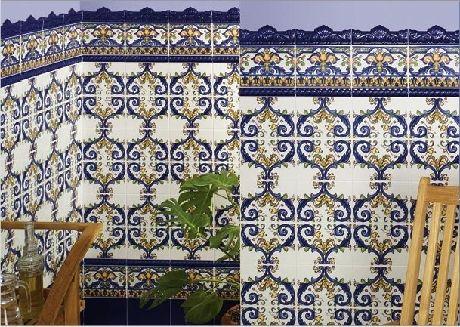 Carrelage Andalous 15x20 Zocalo Azulejos 1er Choix Carrelage Carrelage Mosaique Carrelage Carrelage Salle De Bain