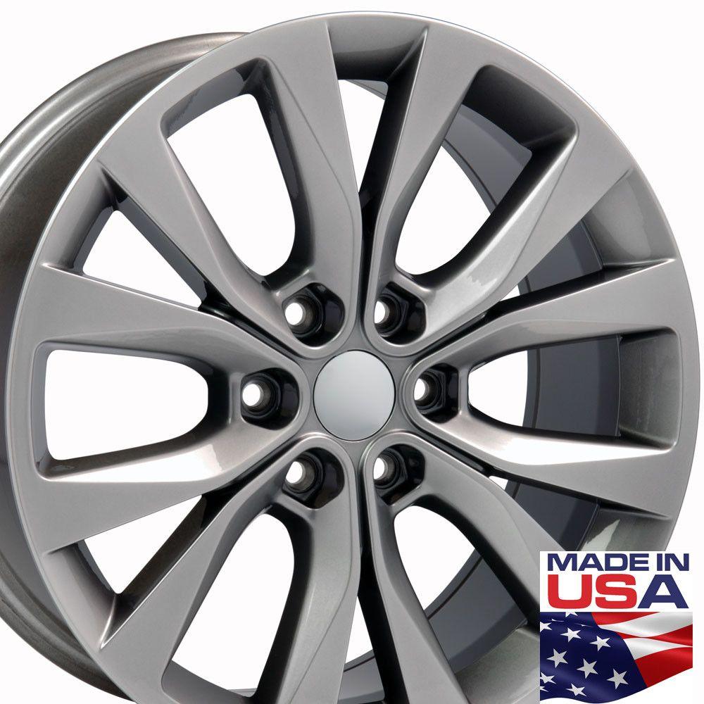 20 fits ford f150 wheels hyper black 20x85 set